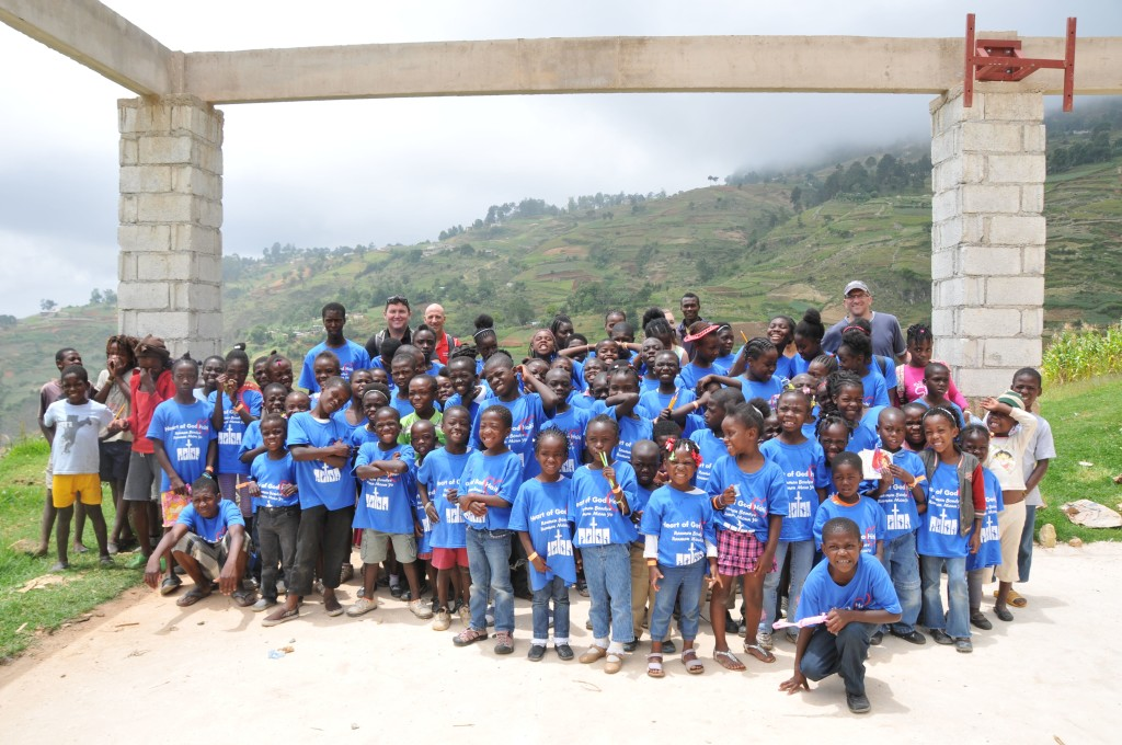 Vacation Bible School group in Boukan, Haiti. Beautiful place and people!