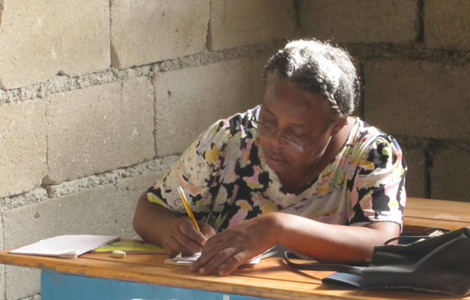 Learning to read and write is a luxury in Haiti.
