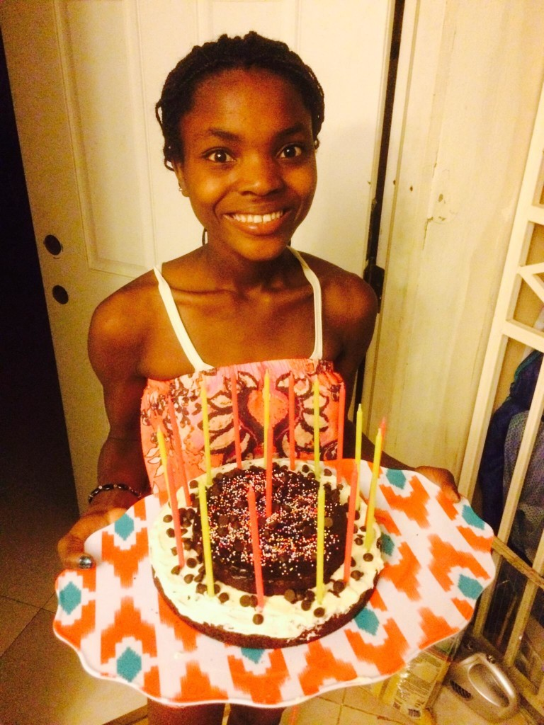 Elita Marguerite turned 17 on February 9th! We celebrated her birthday with family and the Carroll's that day but it was a school night so she had a friends party later when Emma could be with us.