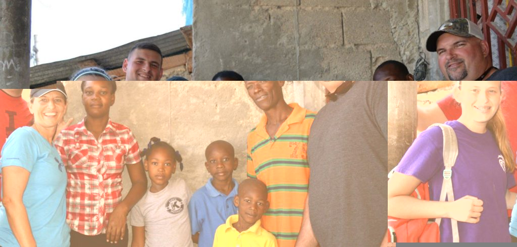 Here is the Shekell family outside of Djo's family house. Everyone said that Haitian Immersion Day was their favorite day of the trip!