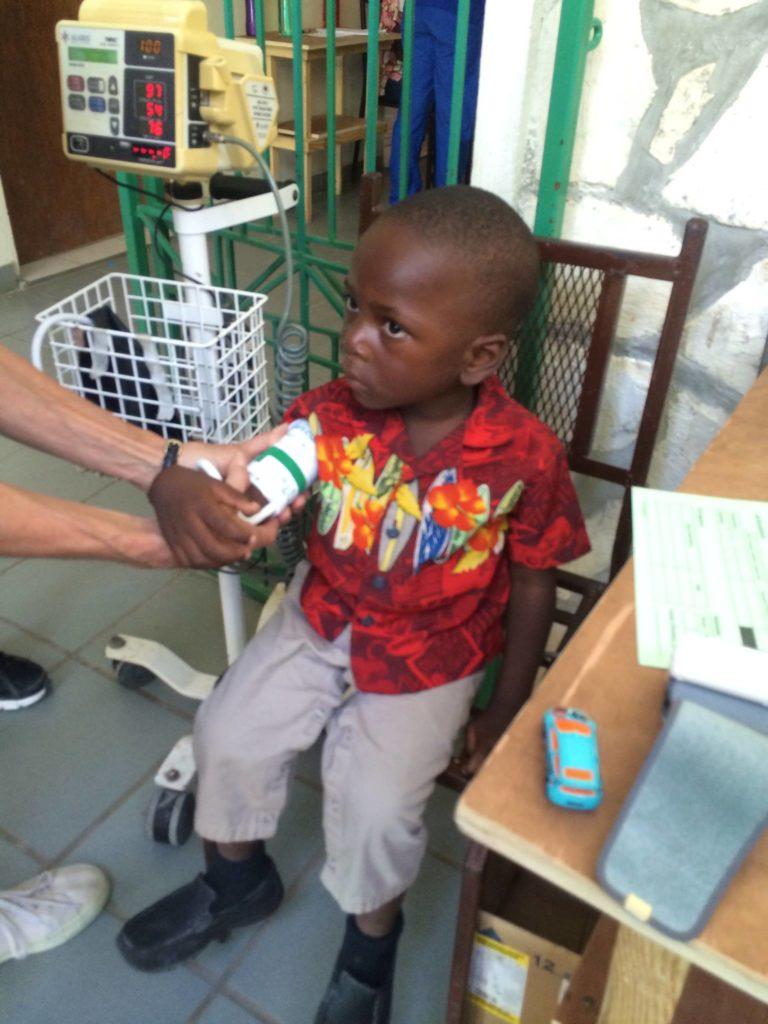 Medical-Emmanuel at hospital